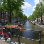 Zu Besuch in Amsterdam